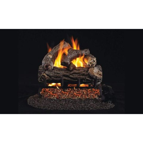 "Real Fyre 30"" Golden Oak Designer Plus Gas Log Set - US Fireplace Store"
