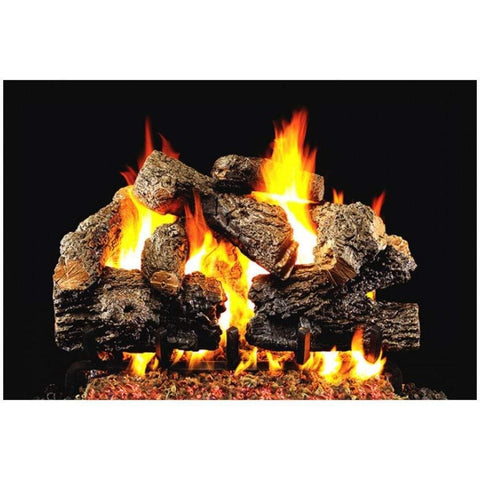 "Real Fyre 30"" Royal English Oak Designer Gas Log Set - US Fireplace Store"