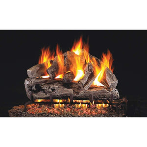 "Real Fyre 30"" Rugged Oak Gas Log Set - US Fireplace Store"