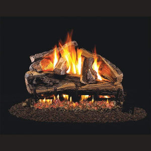 "Real Fyre 30"" Rugged Split Oak Gas Log Set - US Fireplace Store"