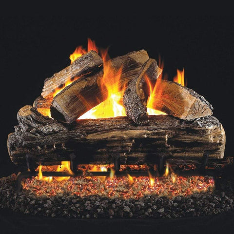 "Real Fyre 30"" Split Oak Gas Log Set - US Fireplace Store"