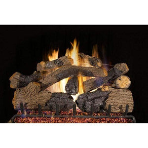 "Real Fyre 36"" Charred Grizzly Oak Gas Log Set - US Fireplace Store"