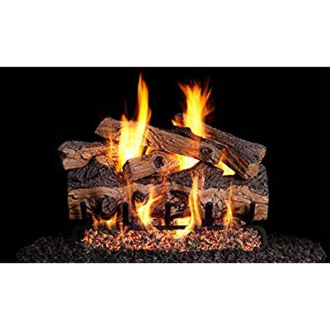 "Real Fyre 36"" Gnarled Split Oak Gas Log Set - US Fireplace Store"