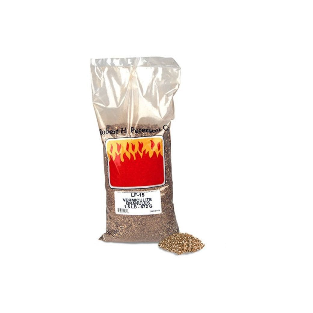 Real Fyre Vermiculite Granules, Propane Gas Applications Only - US Fireplace Store
