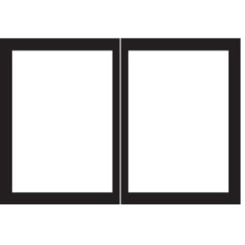 "Empire Door Set Accessory for Tahoe Deluxe 32"" Fireplaces - US Fireplace Store"