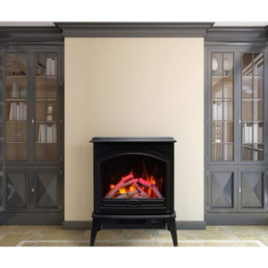 "Sierra Flame by Amantii Cast Iron Freestanding 23""/28"" Electric Stove - US Fireplace Store"