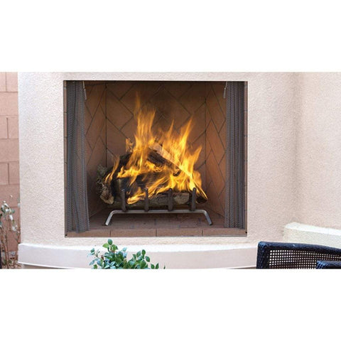"Superior 42"" WRE6042 Wood Burning Outdoor Masonry Fireplace - US Fireplace Store"