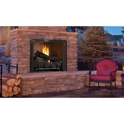 "Superior 50"" VRE6050 Vent-Free Outdoor Fireplace - US Fireplace Store"
