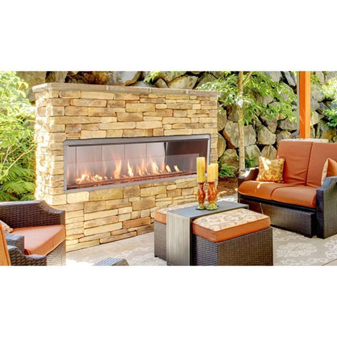 "Superior 72"" VRE4672 Vent-Free Outdoor Fireplace - US Fireplace Store"