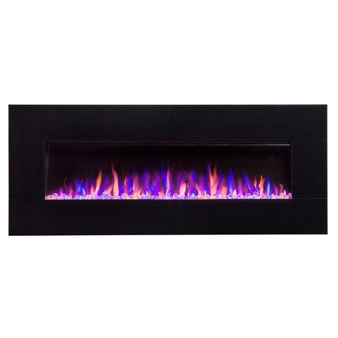 "Touchstone AudioFlare Black Glass 50"" - US Fireplace Store"