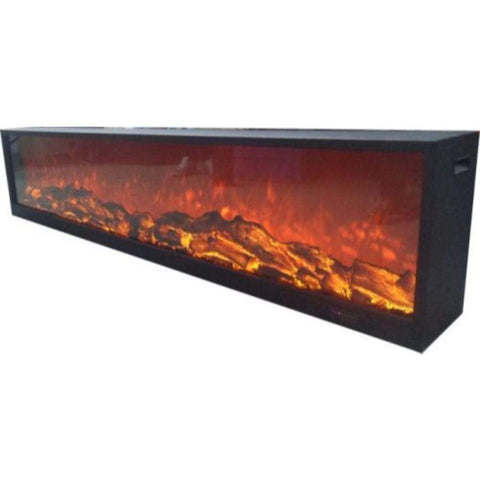 "Touchstone Emblazon 134"" No Heat Electric Fireplace - US Fireplace Store"