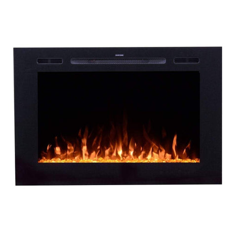 "Touchstone Forte 40"" Recessed Fireplace - US Fireplace Store"