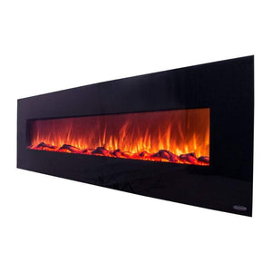 "Touchstone Onyx XL 72"" Wall-Mounted Fireplace - US Fireplace Store"