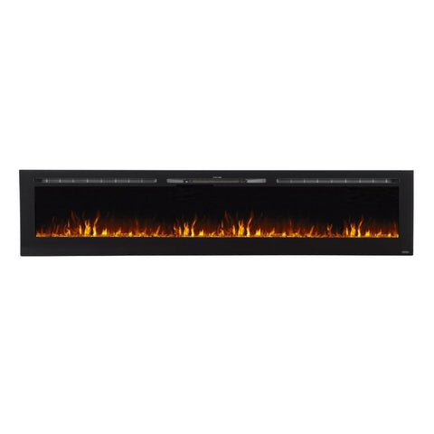 "Touchstone Sideline 100"" Recessed Electric Fireplace - US Fireplace Store"