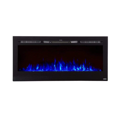 "Touchstone Sideline 45"" Flush Mount Electric Fireplace - US Fireplace Store"