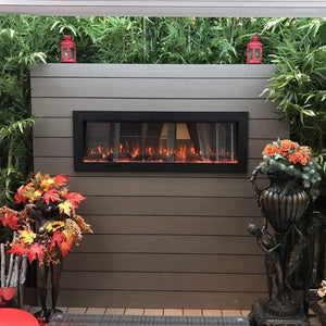 "Touchstone Sideline 50"" Outdoor Fireplace - US Fireplace Store"