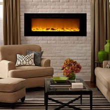 "Touchstone Sideline 60"" Flush Mount Electric Fireplace - US Fireplace Store"