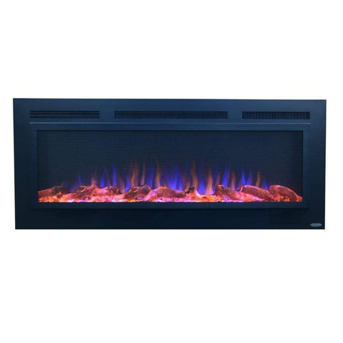 "Touchstone Sideline Steel 50"" Flush Mount Fireplace - US Fireplace Store"
