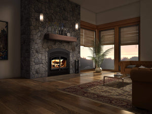 Valcourt Waterloo-Arched High-Efficiency Faceplate Wood Fireplace - US Fireplace Store