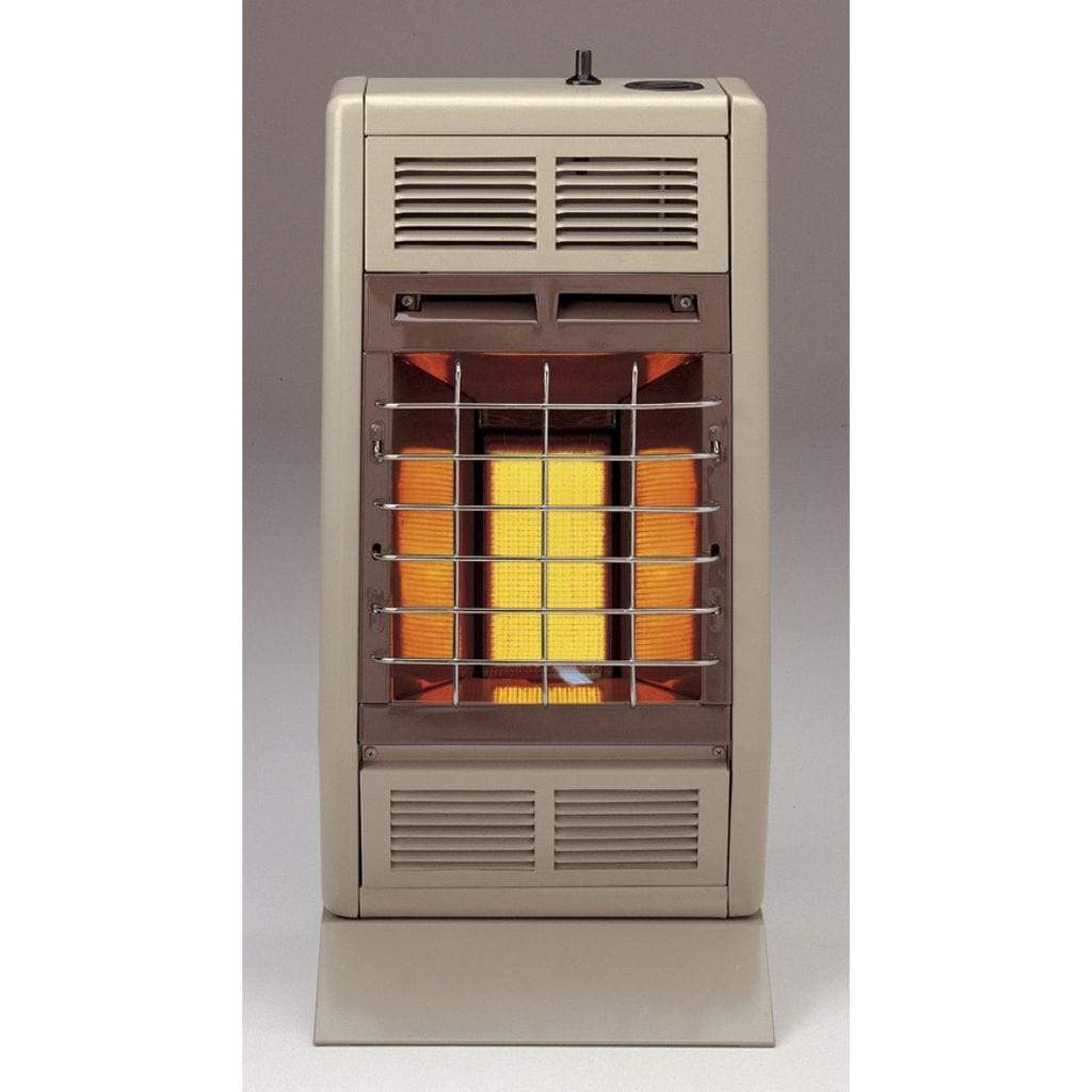 "Empire 11.87"" Manual 1-Heat Setting White 6,000 Btu, Vent-Free Infrared Heater - US Fireplace Store"