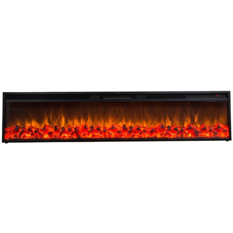 "Touchstone Emblazon 72"" Electric Fireplace - US Fireplace Store"