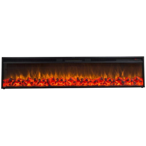 "Touchstone Emblazon 96"" Electric Fireplace - US Fireplace Store"
