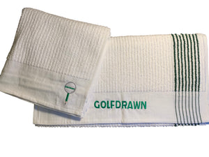 Golf Drawn Towel