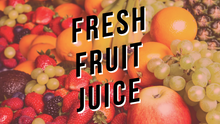 Load image into Gallery viewer, Fresh Fruit Juice Iced