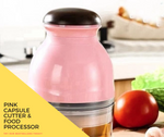 Load image into Gallery viewer, Pink Capsule Cutter & Food Processor