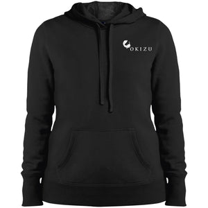 Ladies' pullover hooded sweat shirt
