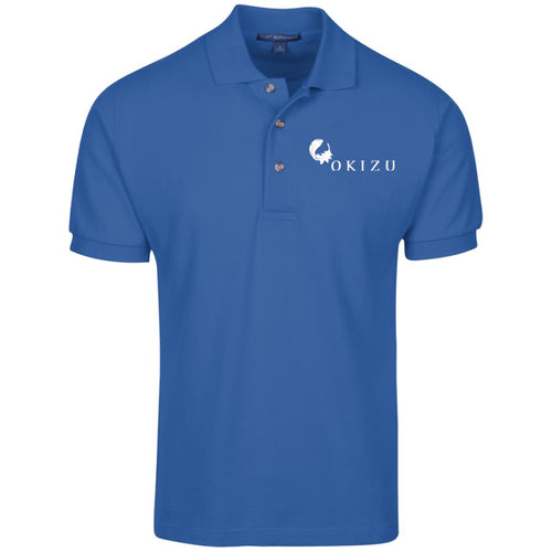 Mens Cotton Pique Knit Polo