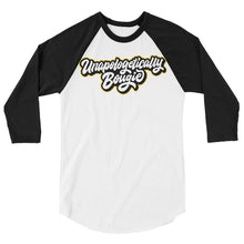 Load image into Gallery viewer, Unapologetically Bougie  Raglan Shirt