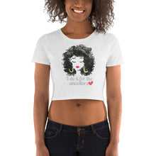 Load image into Gallery viewer, I DO IT FOR THE ANCESTORS Women's Crop Tee