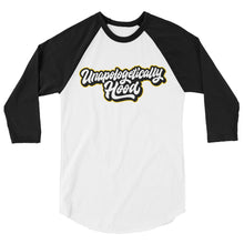 Load image into Gallery viewer, Unapologetically Hood Raglan Shirt