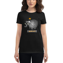 Load image into Gallery viewer, Speak On It Women's short sleeve t-shirt