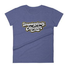 Load image into Gallery viewer, Unapologetically Christian Women's T-shirt