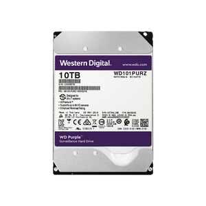 WD HDD 10TB optimized to Surveillance