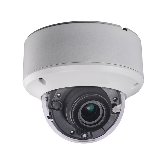 Professional Vandal Proof Impact Protection 5 MEGAPIXEL  Dome Security Camera / Motorized lens 2.7 to 13.5mm / EXIR 40m (130ft) / IP67 / IK10