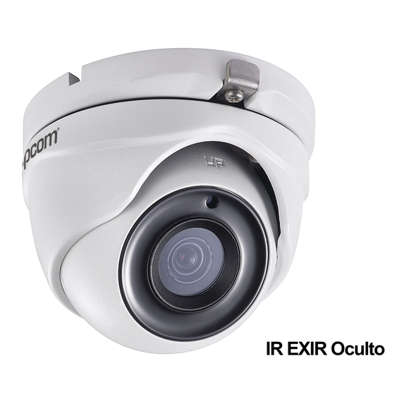 Eyeball Camera TURBOHD 5 Megapixel / Lens 2.8 mm / EXIR IR 65 ft (20 mts) / 12 VCD / IP67 / Metal Housing / 4 Technologies (TVI / AHD / CVI / CVBS)