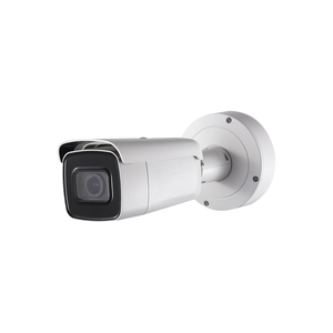 Professional Vandal Proof  IP67 4K IP Bullet Camera 8MP-2160-p / H.265+ / Motorized lens 2.8 to 12mm / IP67 Outdoor protection / 120dB WDR / IR up to 164ft (50m)