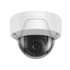 Professional Impact Protection IP Dome 2 MP / 2.8 mm lens / 98 ft IR / H.265 / IP67 / IK10 / POE