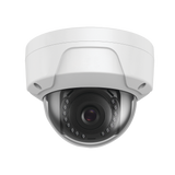 Professional Vandal Proof Impact Protection 8 Megapixel 2160-p/ 4K / UHD / IP Dome Security Camera H.265+ / 2.8mm Fixed Lens / 96 ft IR / Outdoor IP67 / IK10 / WDR / PoE / MicroSD Support