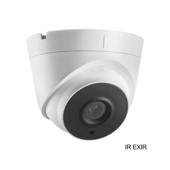 5 Megapixel TVI Turret Camera / 2.8 mm Fixed Lens / Smart IR up to 40 m / IP67