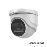 Eyeball 4K 2160-p 8MP TURBOHD / 2.8 mm Lens / IR EXIR up to 98ft / IP67 / 12 VDC / 4 Technologies (TVI / AHD / CVI / CVBS)