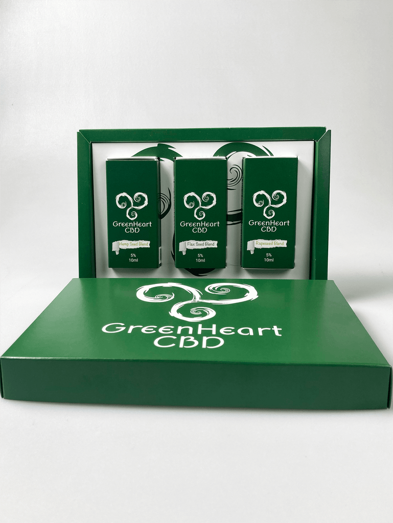 Greenheart CBD - Gift Box CBD Oils 5% - Greenheart