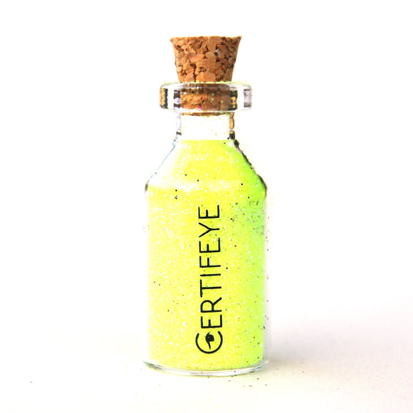 Mini Lemon Neon Glitter