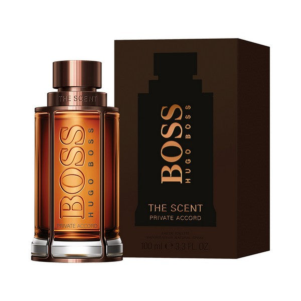 Miesten parfyymi The Scent Private Accord Hugo Boss EDT (100 ml)