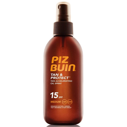 Aurinkoöljy Tan & Protect Oil Spray Piz Buin SPF 15 (150 ml)
