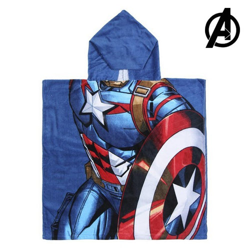 Hupullinen ponchopyyhe Captain America The Avengers 74171