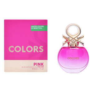 Naisten parfyymi Colors Pink Benetton EDT (50 ml)